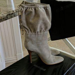 Roberto Cavalili suede boots
